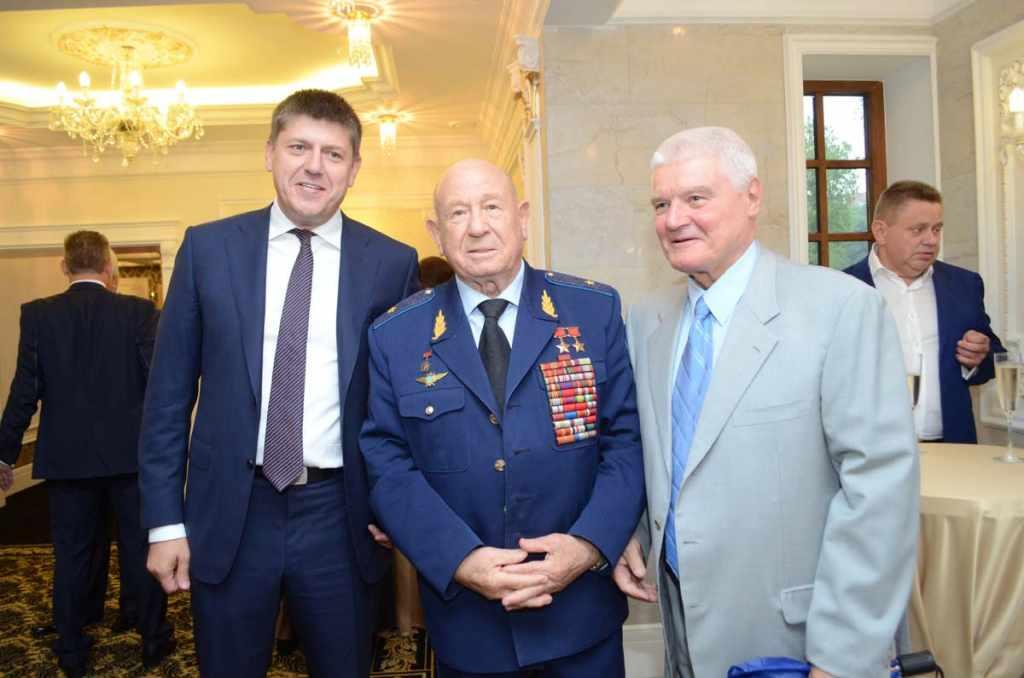 Андрей Кропоткин, Алексей Леонов, Владимир Егоров