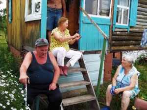 садоводы-пенсионеры