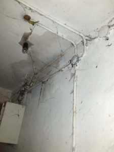 сырой потолок