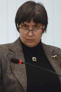 председатель Общественной палаты Ольга Аринцева