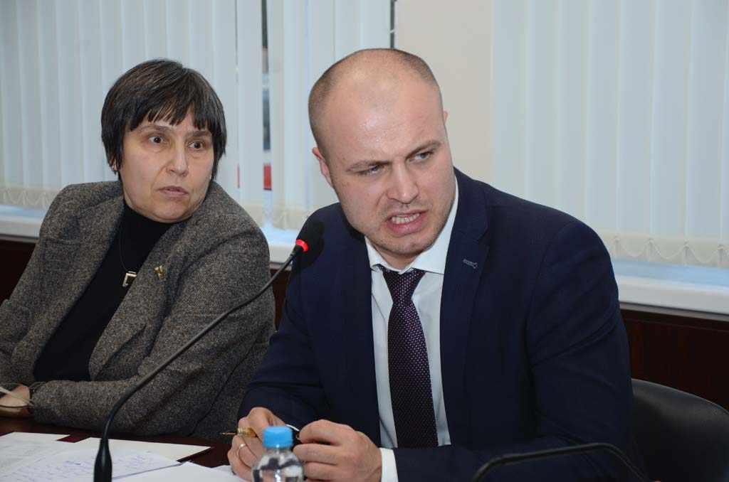 Ольга Аринцева и Сергей Черномаз