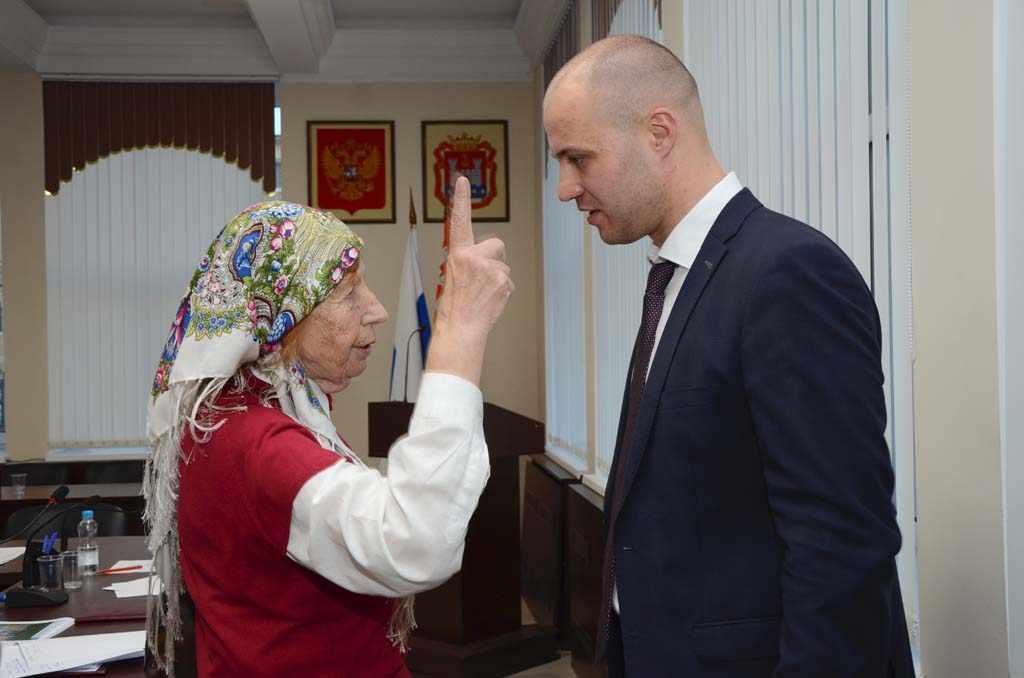 Министр Сергей Черномаз Калининград