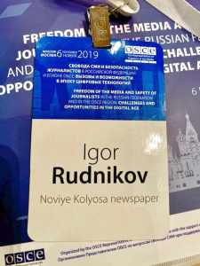 Igor Rudnikov OSCE
