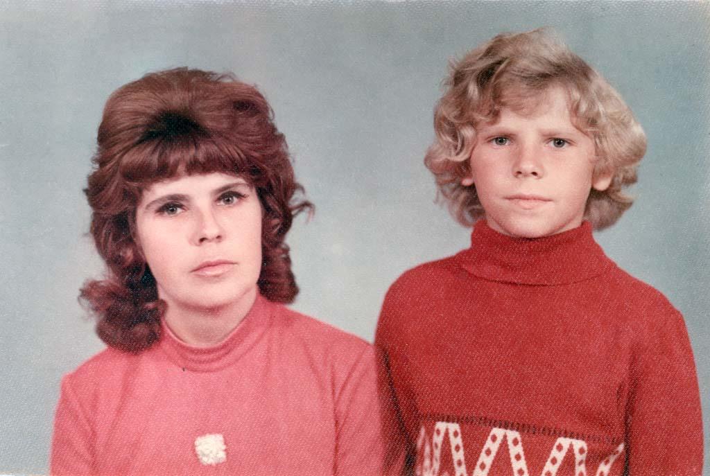 Игорь Рудников и его мама