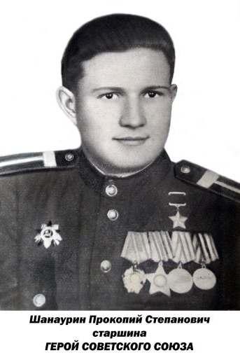 сержант Прокопий Степанович Шанаурин герой Советского Союза