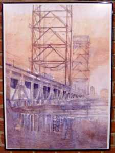двухъярусный мост картина