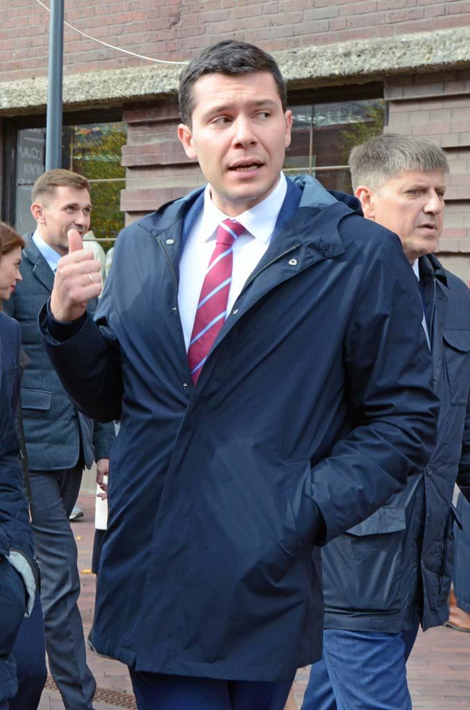 губернатор Алиханов