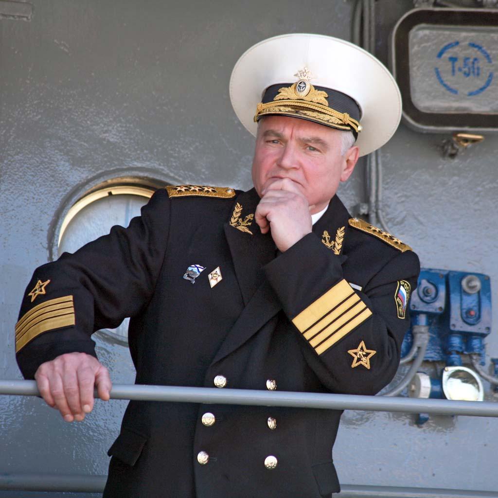 Адмирал Владимир Егоров