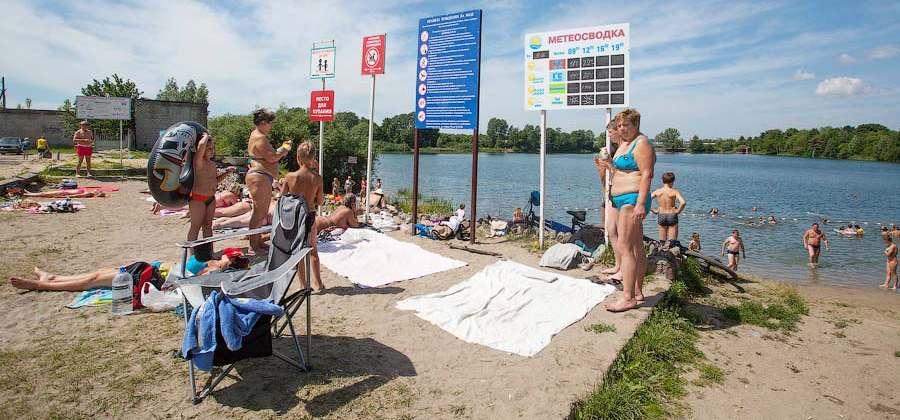 озеро Шенфлиз Калининград