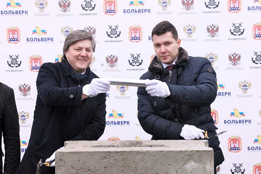 Виктор Олерский и Антон Алиханов