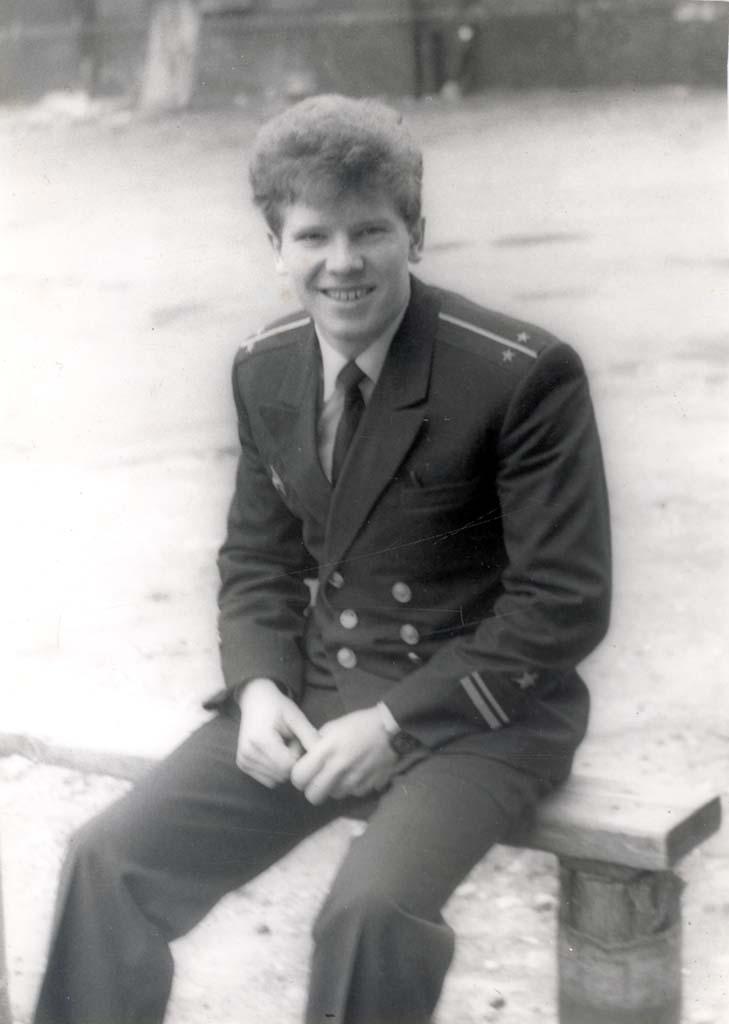Игорь Рудников. Балтийск. 1986