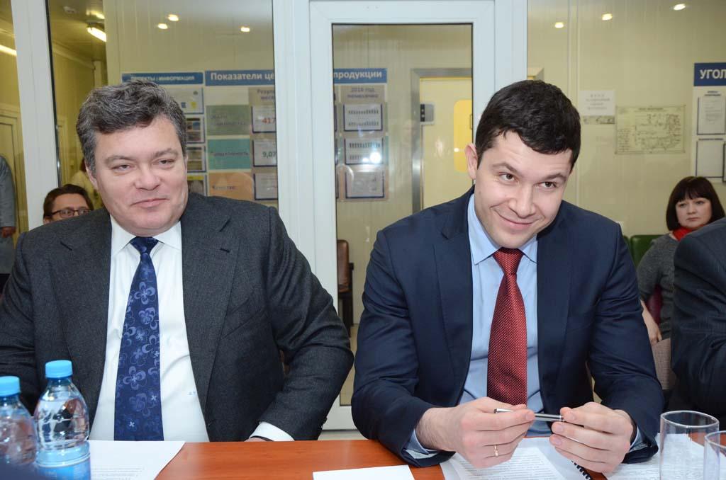 Стефано Влахович и Антон Алиханов
