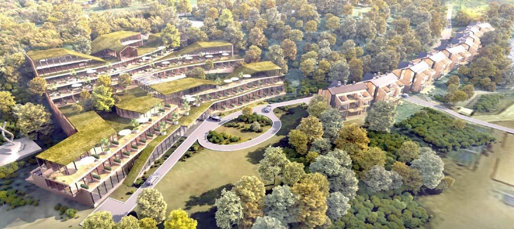новый апарт-отель в посёлке Янтарный