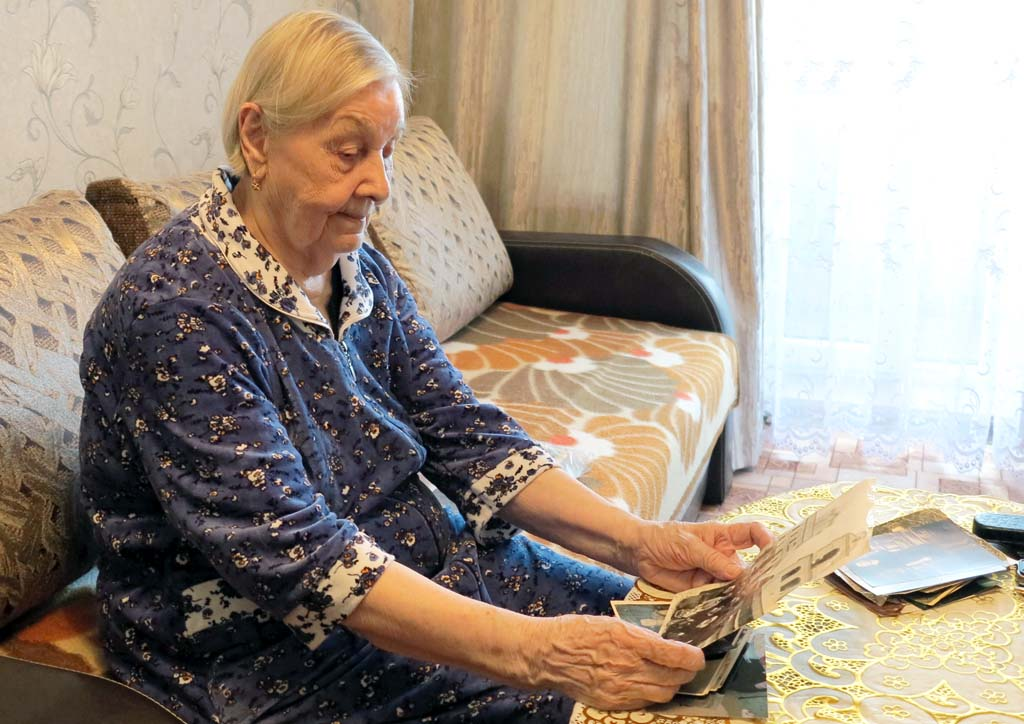 Александра Ивановна Буймистр – старейший житель Калининградской области
