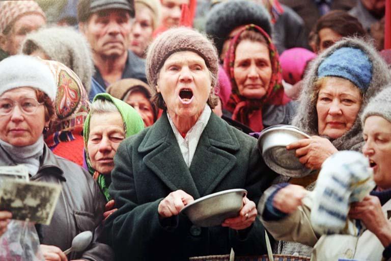 голодный бунт