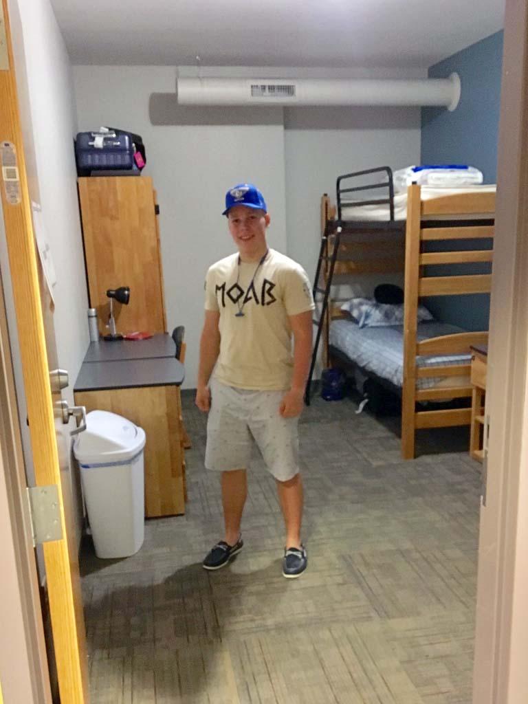 комната в американском общежитии