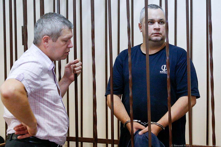 Борис Образцов в тюрьме