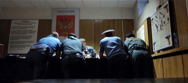 сходка полицаев