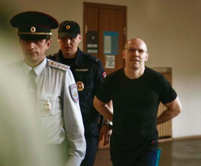 Игорь Рудников в суде