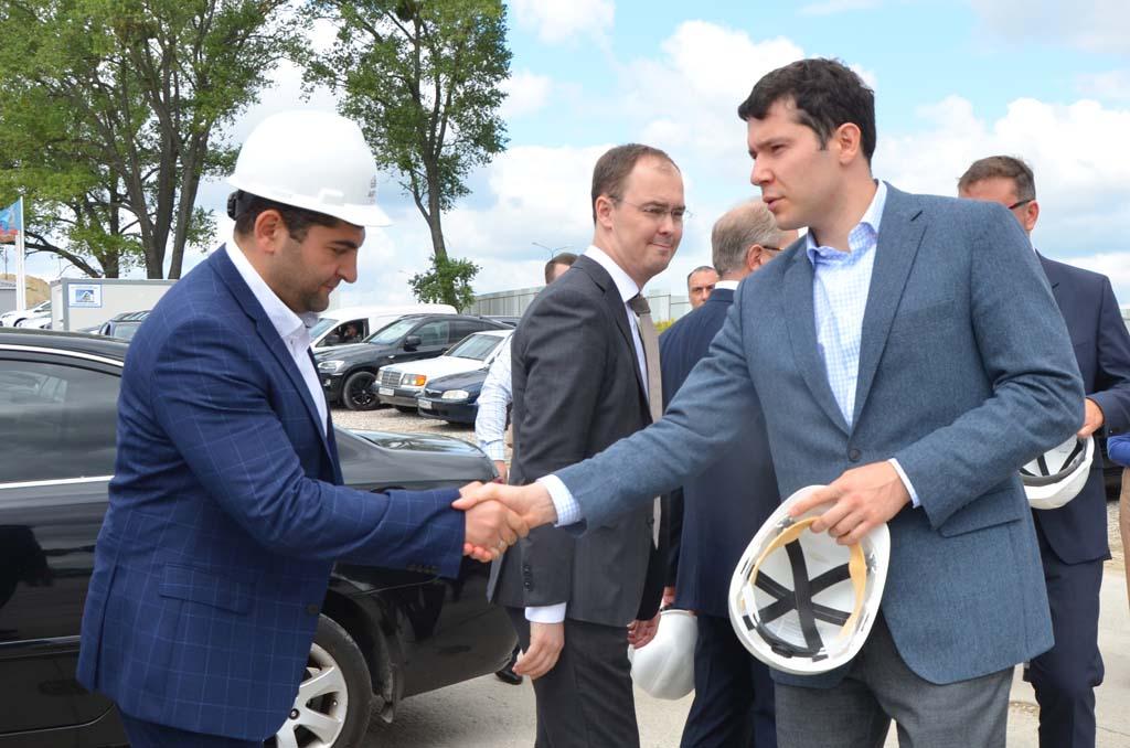 Ашот Закарян и Антон Алиханов