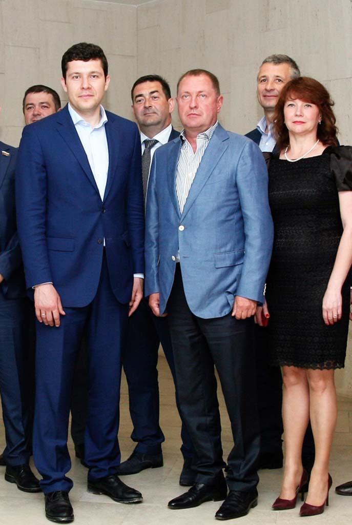 Алиханов, Мохнов, Гайдуков
