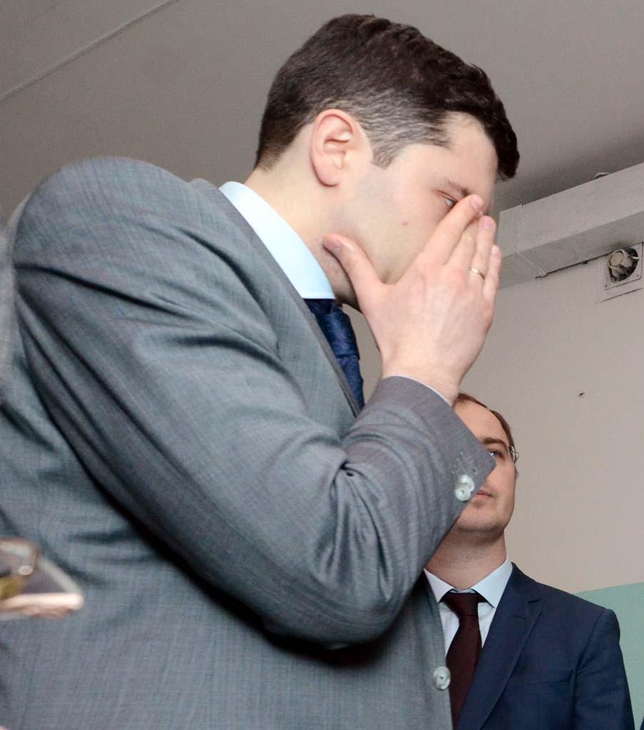 губернатор Антон Алиханов