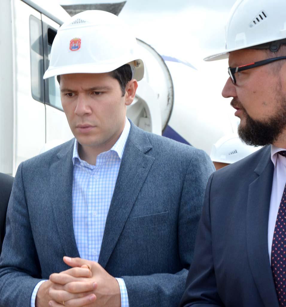 губернатор Антон Алиханов и вице-премьер Илья Баринов