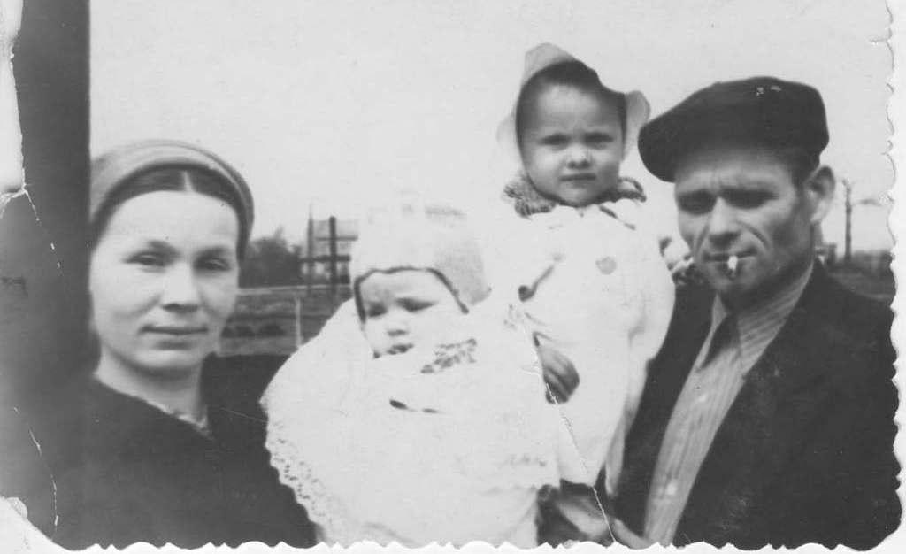 семья Буймистр Калининград 1955