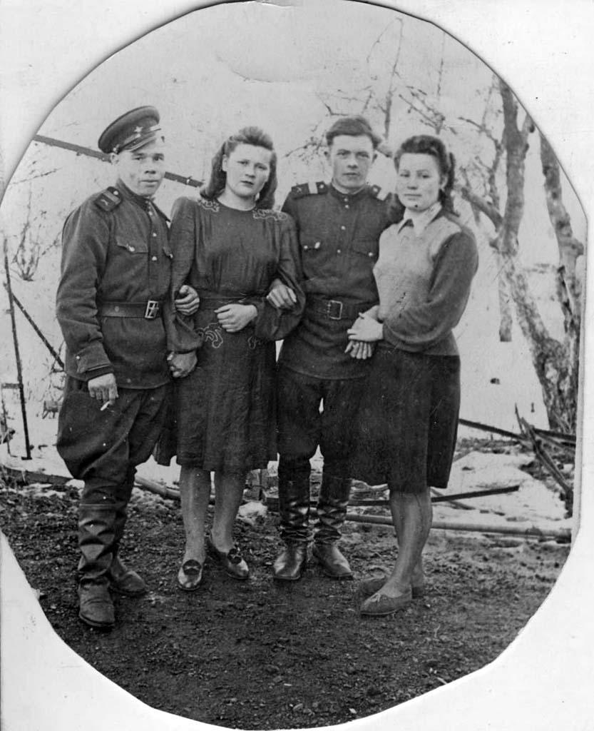 Свадебная фотография Буймистр Калининград 1953
