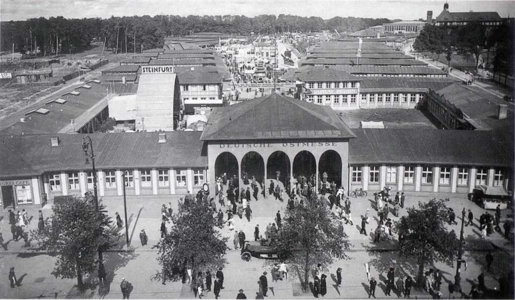 ярмарка в Кёнигсберге
