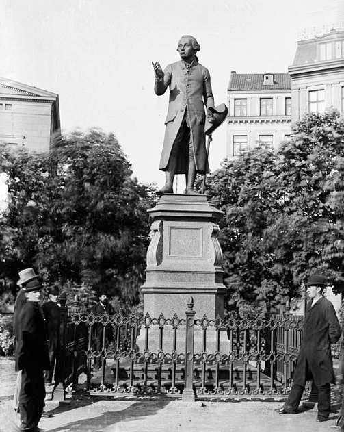 памятник Канту в Кёнигсберге