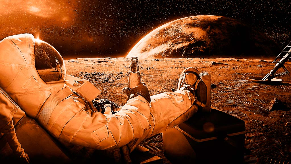 отдых на Луне
