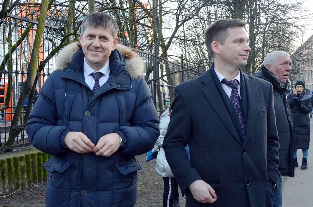 Депутаты горсовета Андрей Кропоткин и Алексей Сагайдак