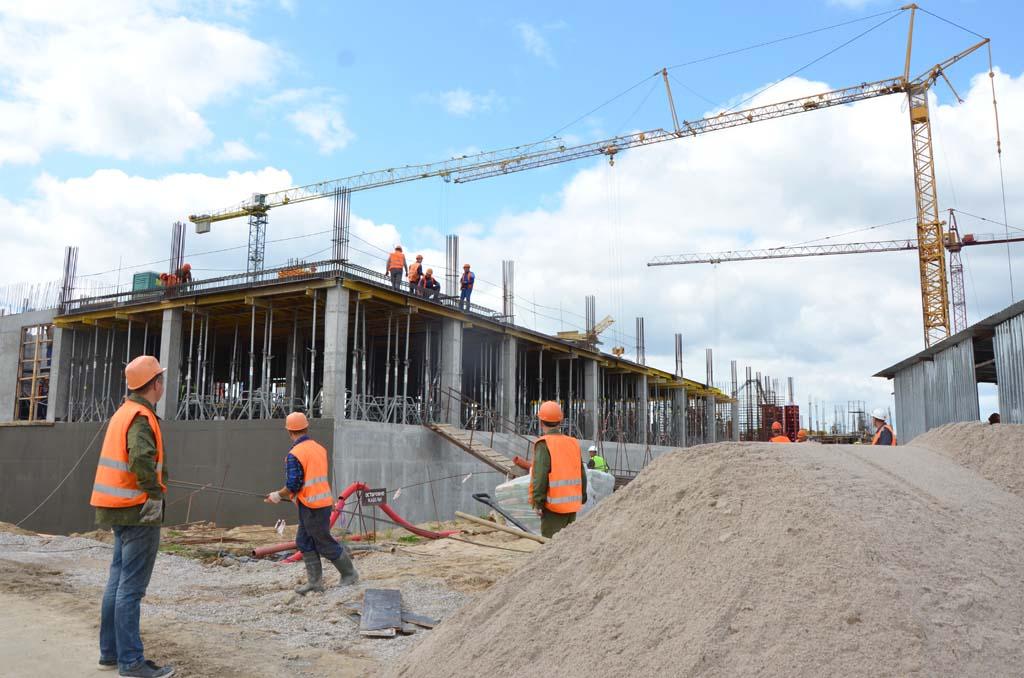 строительство онкоцентра Калининград