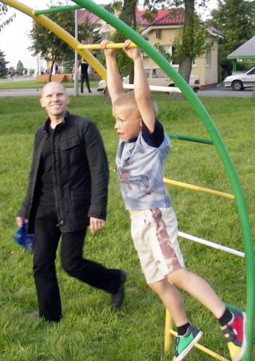 Игорь Рудников с сыном