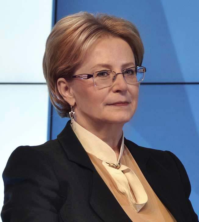 Вероника Скворцова экс-министр здравоохранения
