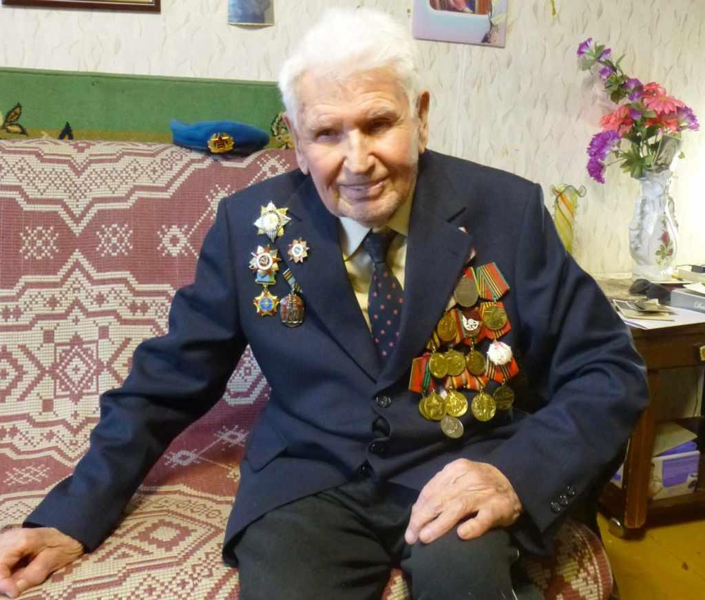 Бочкарёв Пётр Прокофьевич ветеран Великой Отечественной войны Калининград