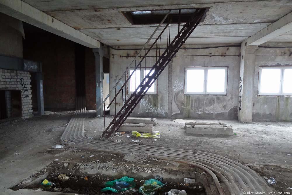 Дом Советов Калининград - внутри всё печально