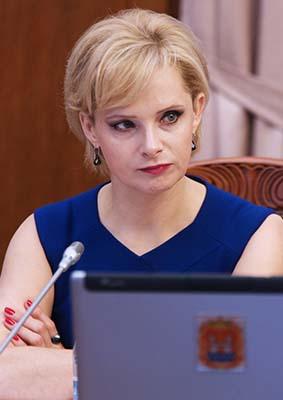 Анжелика Майстер министр социальной политики Калининградской области