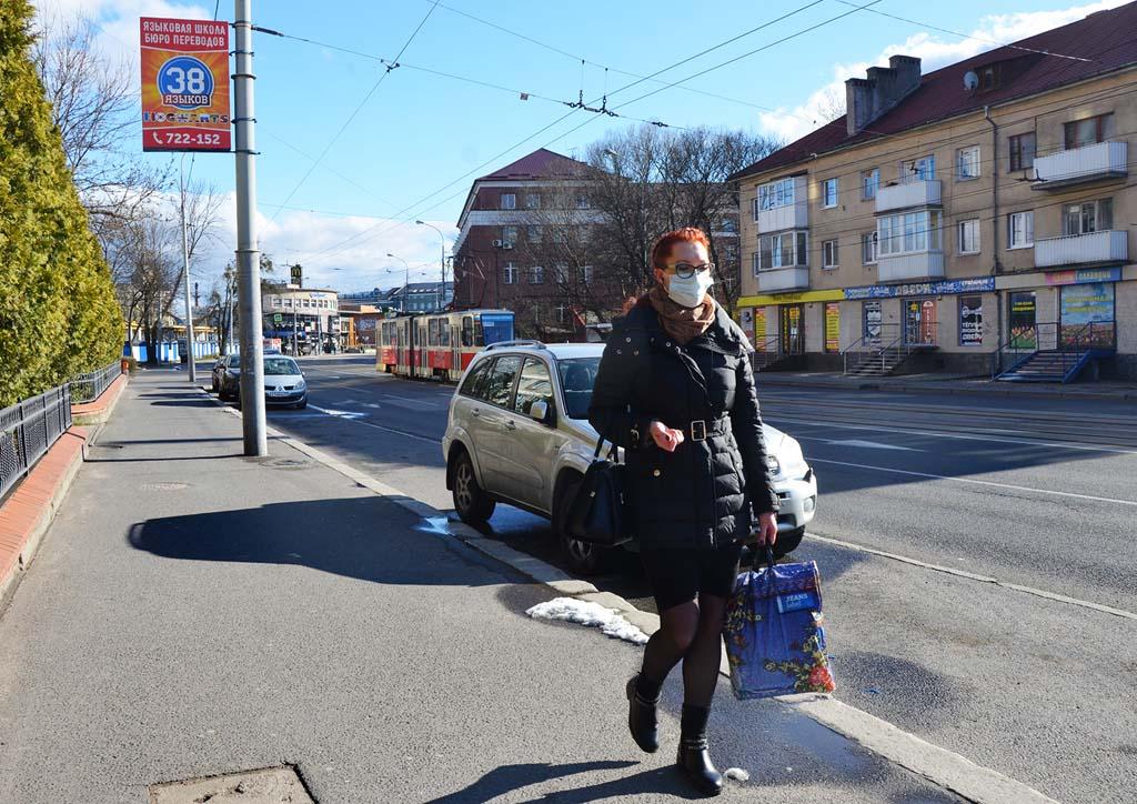 Калининград на карантине