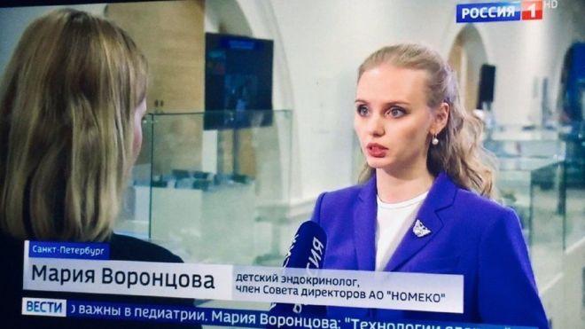 Мария Воронцова старшая дочь Путина