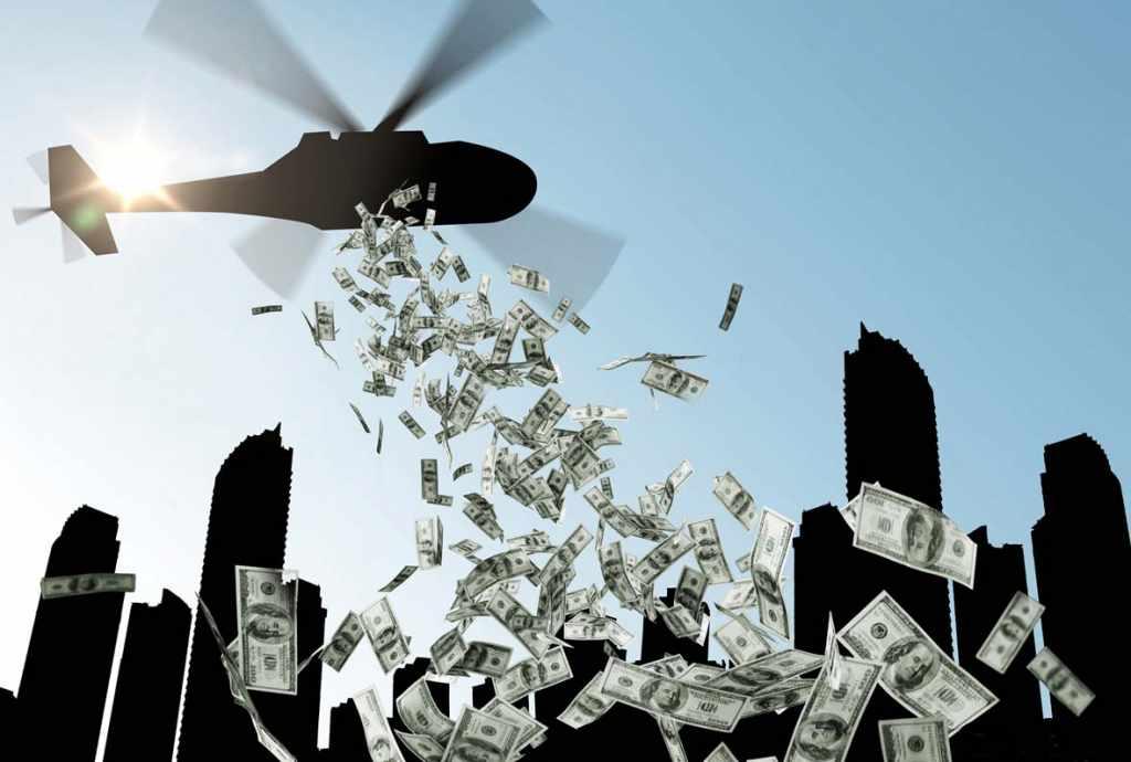 """""""вертолётные деньги"""" в России"""