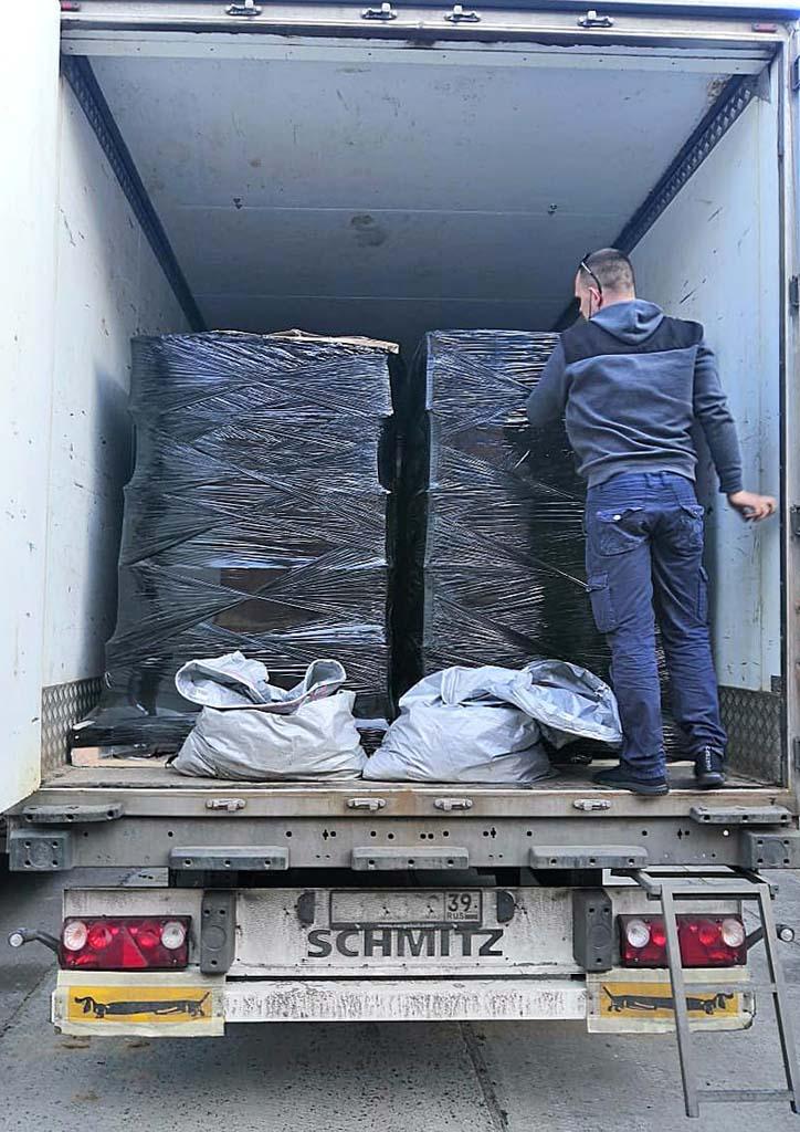 в Балтийске изъяли 38 тонн алкоголя