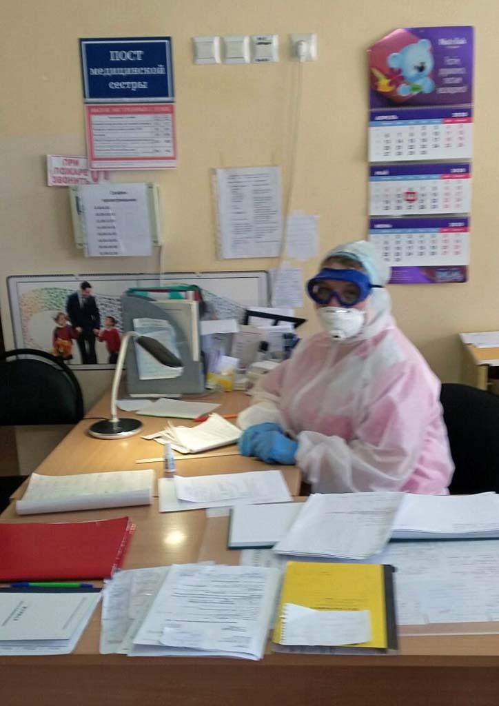врач коронавирус