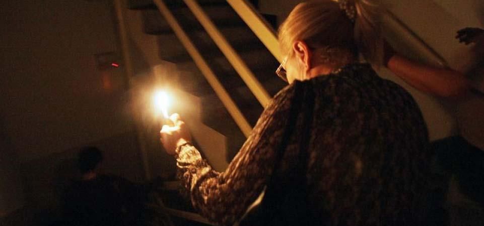пенсионеры без электричества