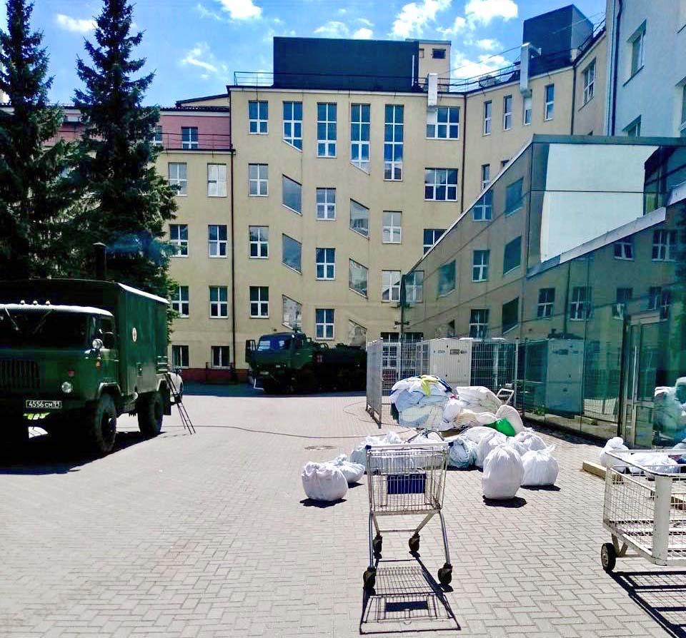 дезинфекция (прожарка) белья областная больница Калининград коронавирус
