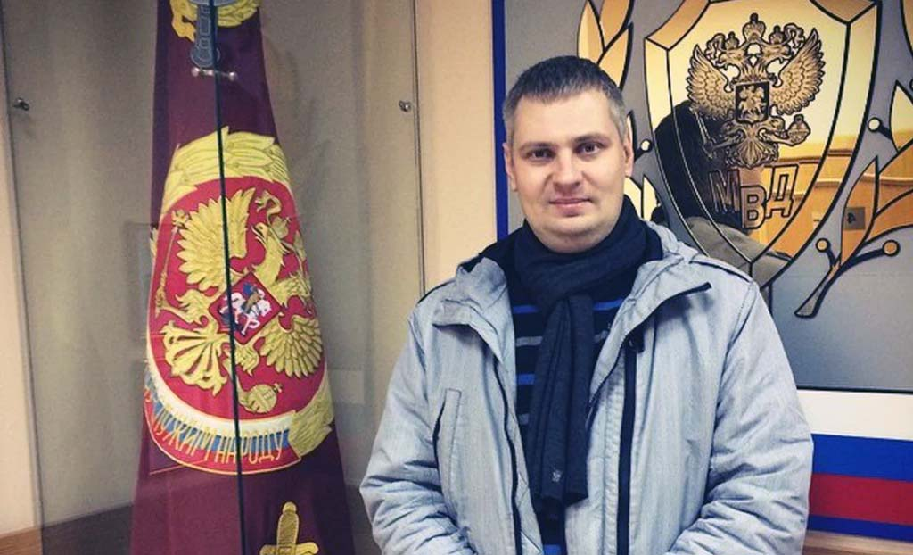 подполковник полиции Алексей Черкасов Калининград