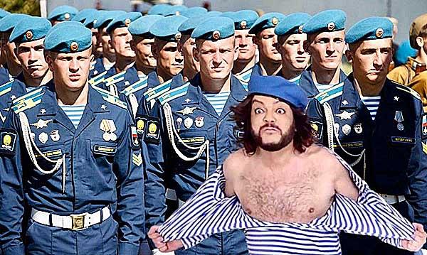 Филипп Киркоров обидел десантников