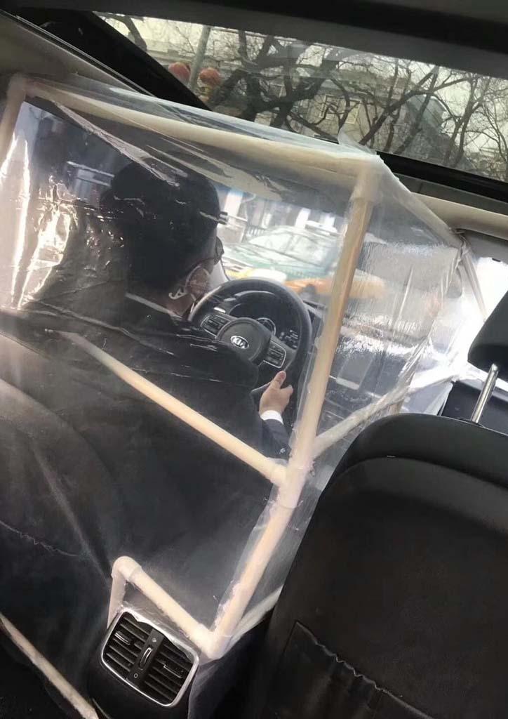 защита от коронавируса в такси
