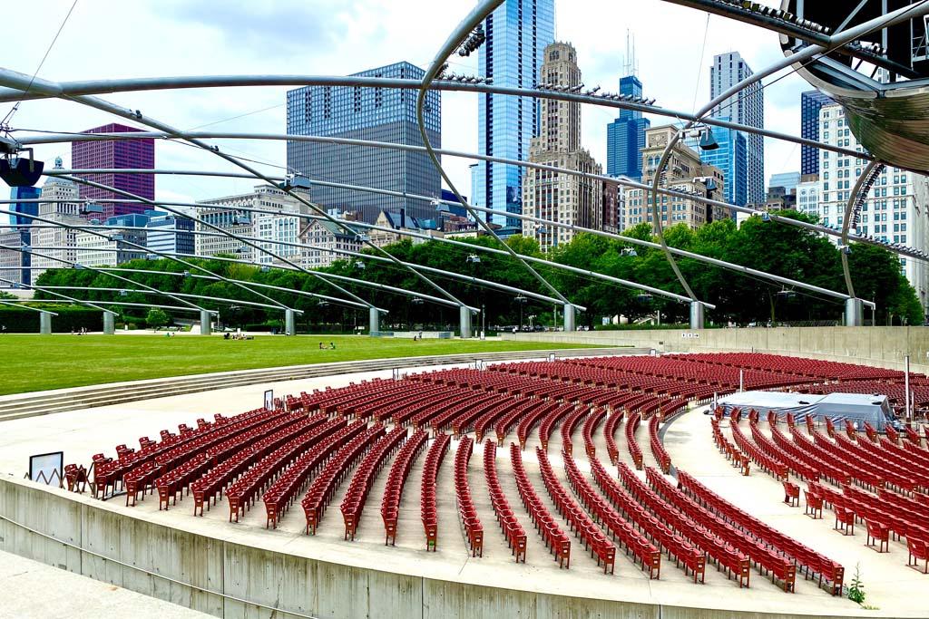 Миллениум парк Чикаго
